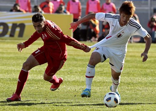 日本、シリアに敗れる ロンドン五輪アジア最終予選
