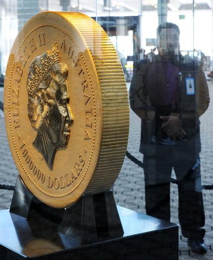 重さ1トンの金貨、貨幣価値は43億円 オーストラリア