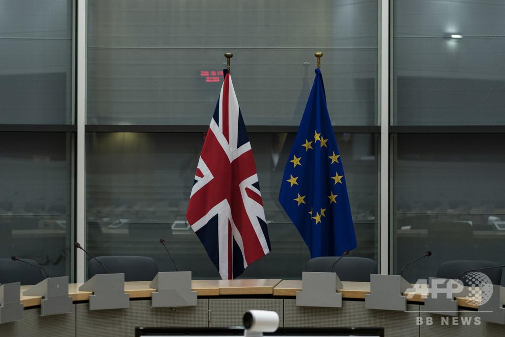 EU、英国の離脱延期期間の決定を来週に持ち越し