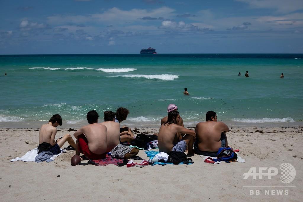 フロリダ州、新規感染者1.5万人超 米国の最多更新