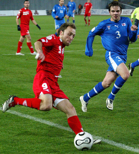 <サッカー 欧州選手権2008・予選>グルジア イアシビリの2得点などでフェロー諸島に勝利 - グルジア