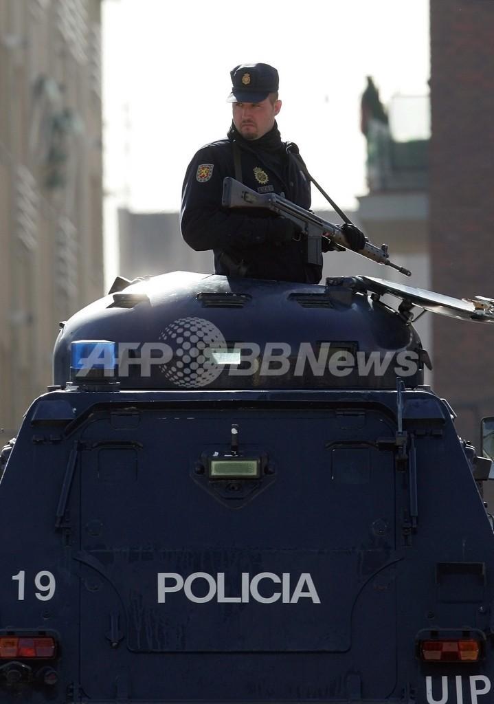 総選挙を前にテロ警戒レベルを最高度に引き上げ、スペイン