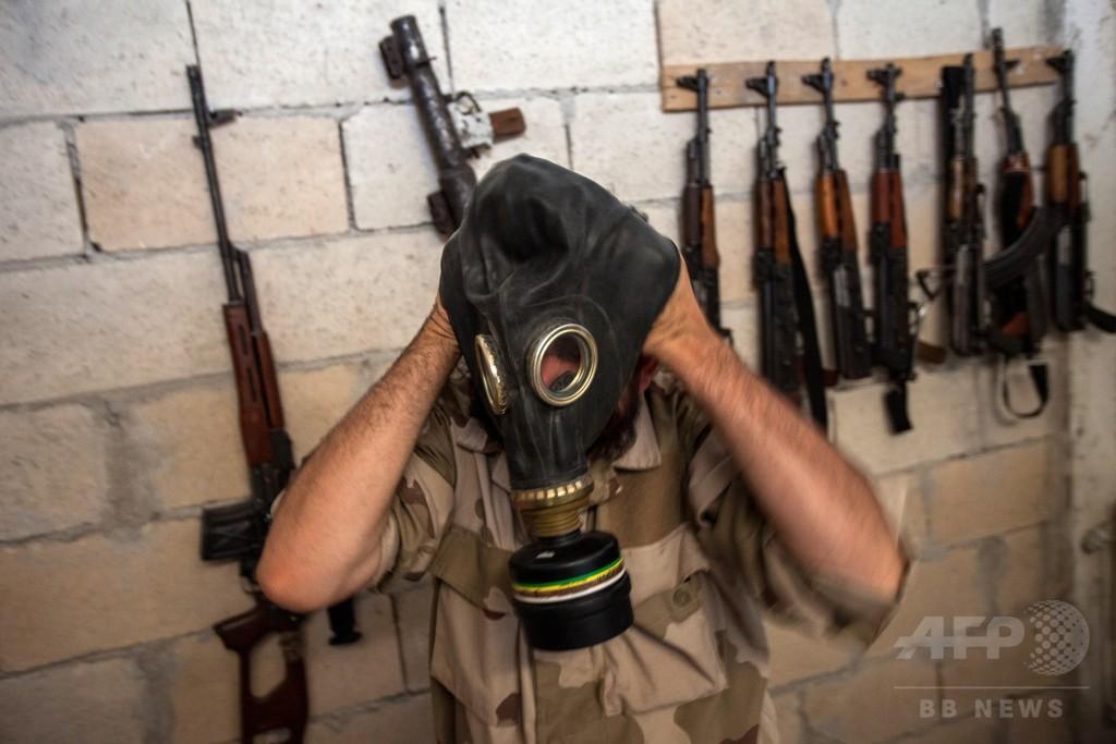 アサド政権、新たな化学兵器攻撃を準備か 米「重い代償」警告