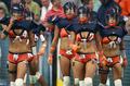 下着姿の「ランジェリーフットボールリーグ」、米国で開幕