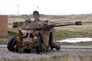 国際ニュース:AFPBB Newsフォークランド紛争から25年 - 英領フォークランド