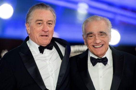 スコセッシとデ・ニーロ、映画の未来語る ネットフリックスへの言及も