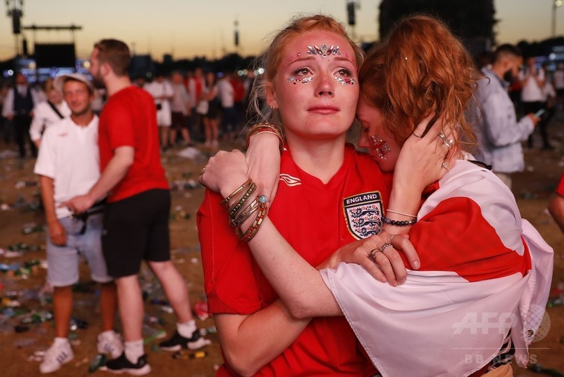 決勝逃したイングランド、ファン落胆も若いチームに誇り「時代変わった」
