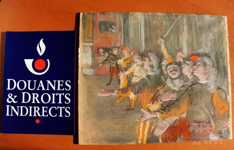 バス荷物室から09年に盗難のドガ絵画、1億円相当 フランス