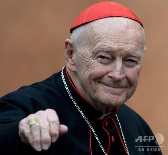 ローマ法王、性的虐待で元枢機卿の聖職剥奪