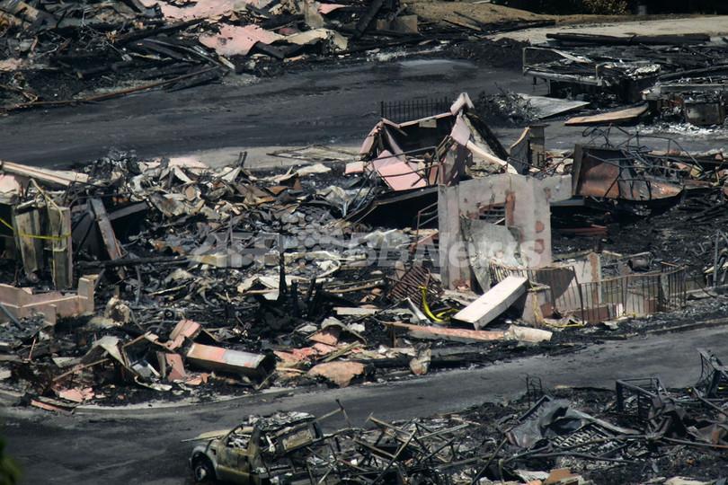 米ユニバーサル・スタジオの火災、作業員による失火が原因か