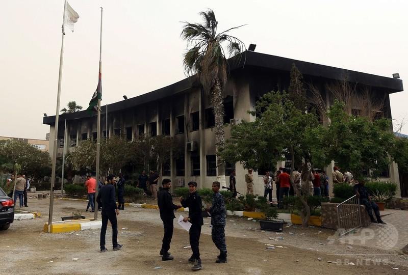 リビア選管への自爆攻撃で12人死亡 ISが犯行声明