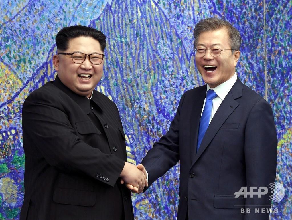 南北会談から1年、韓国が記念式典開催へ 北の参加は不明