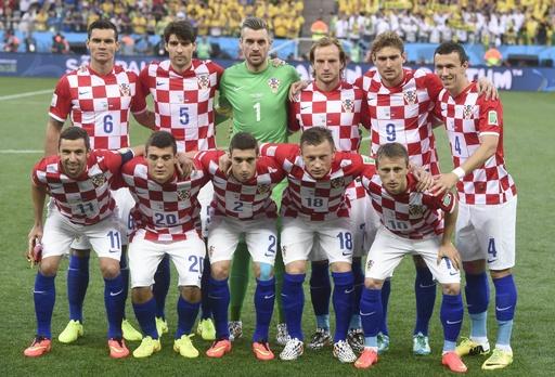 W杯クロアチア代表、全裸写真流出で取材拒否