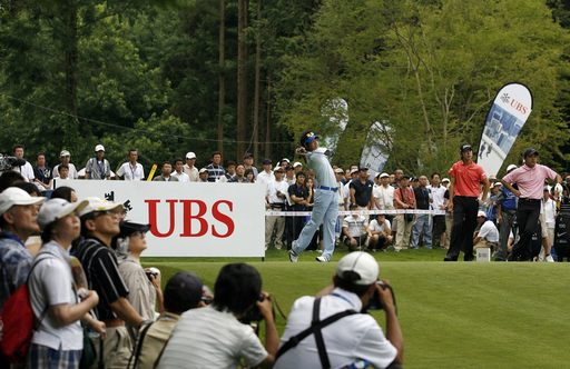 UBS日本ゴルフツアー選手権2008・2日目 石川遼 74位タイで予選落ち