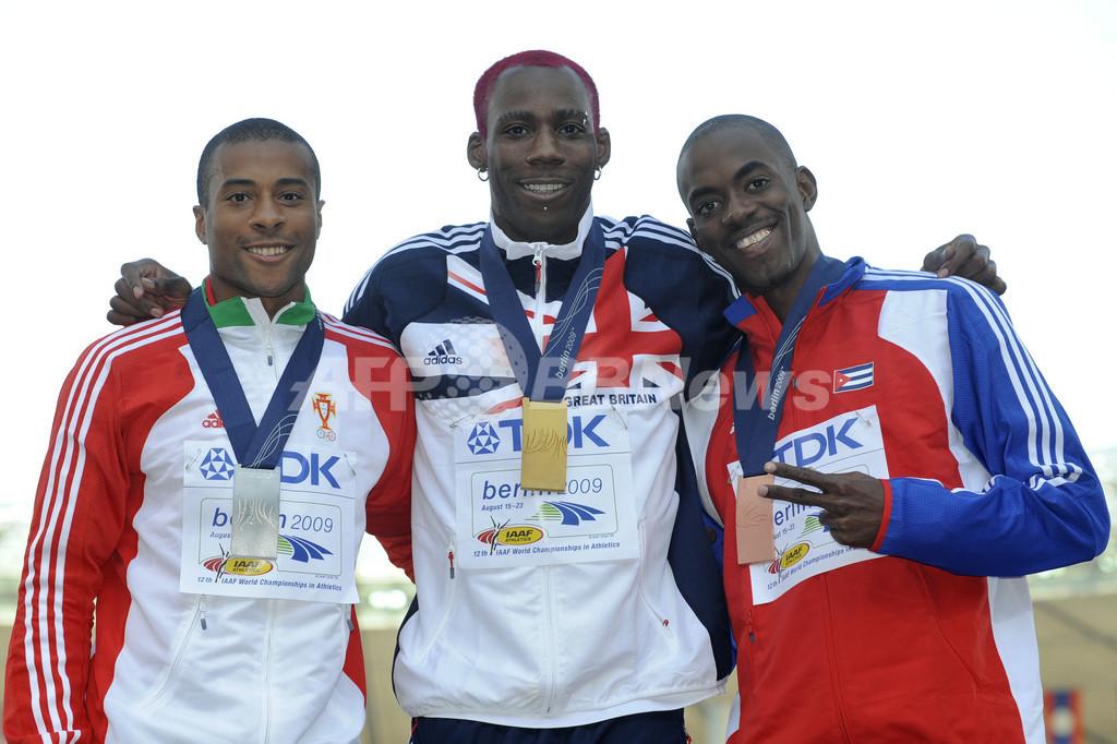 イドウ 男子三段跳びで金メダル、世界陸上ベルリン大会 写真7枚 国際 ...