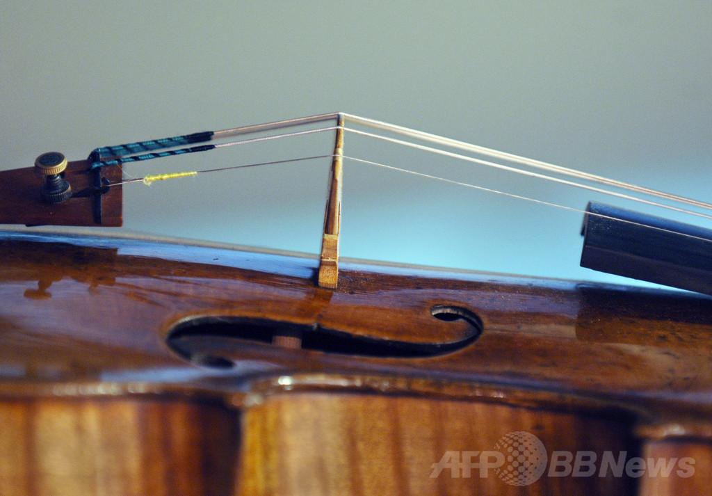 年代物のバイオリン、ソリストは新品と区別できず 研究