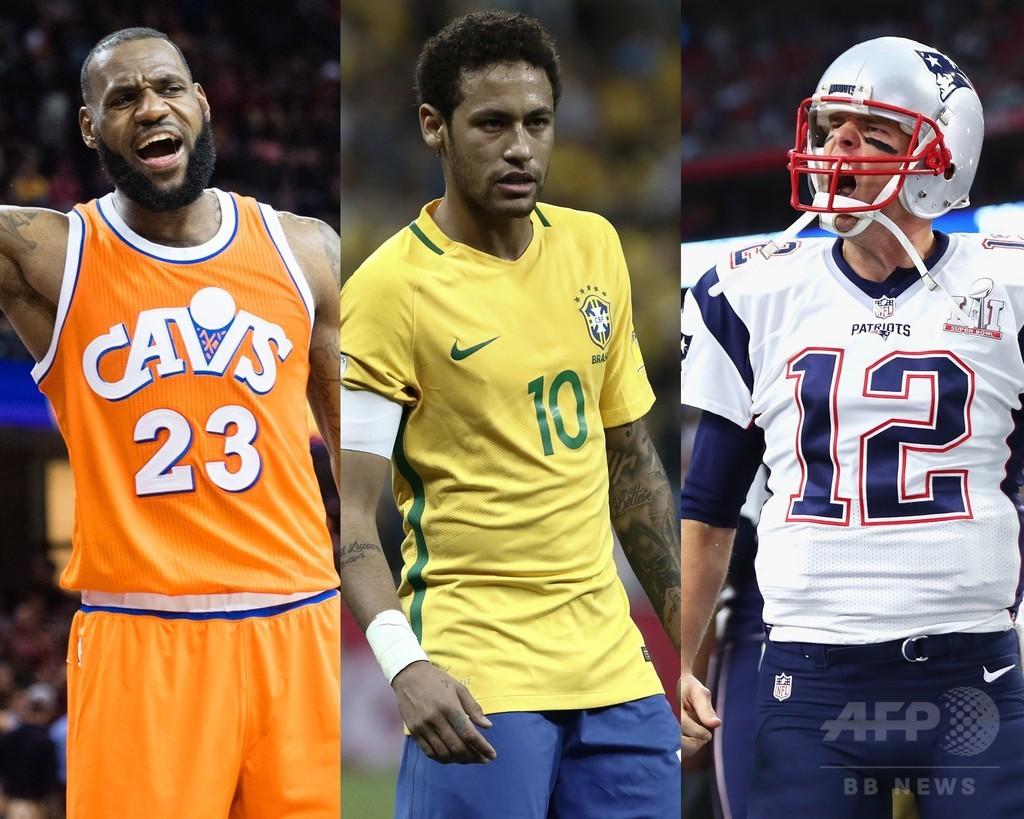 「最も影響力のある100人」、スポーツ界からはネイマールら7人