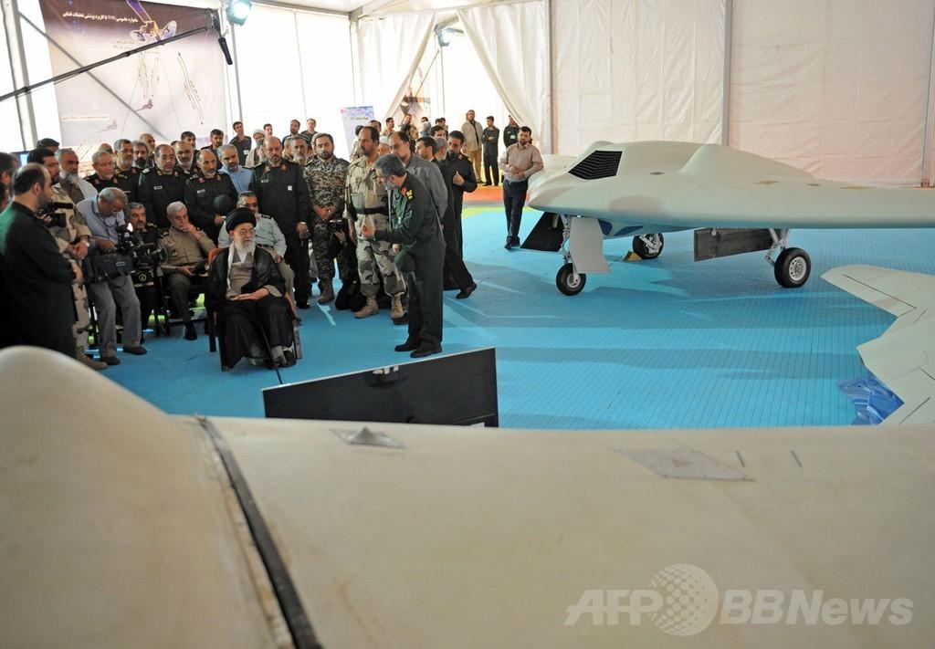 イラン、米無人機の「複製に成功」