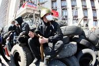 米、ウクライナ東部の混乱に「ロシア工作員関与」と非難