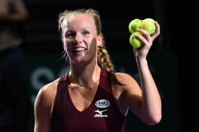 代替出場のベルテンスがケルバー撃破、WTAファイナルズ