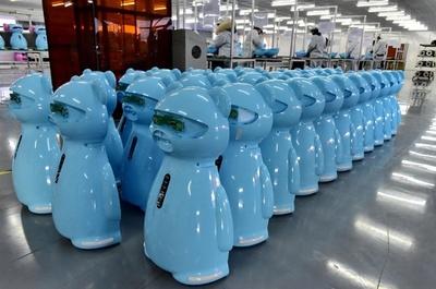 中国のAIロボット企業、爆発的に増加 研究報告