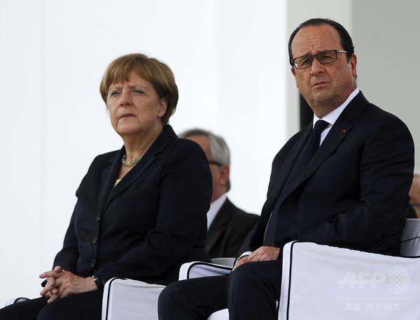 EU「英国はなるべく速やかに離脱を」、未練断つ共同声明
