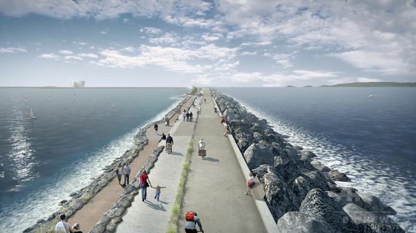 英の潮力発電用人工ラグーンの建設、中国企業に決定