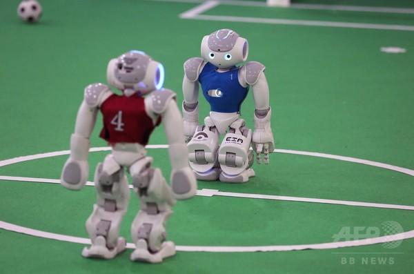 ロボットのサッカーW杯開幕、イラン・テヘラン