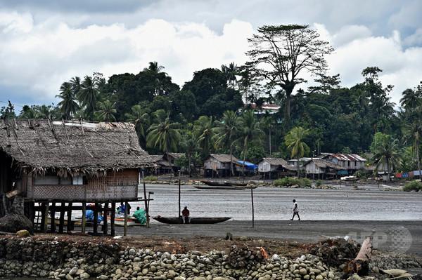 太平洋を3か月間漂流、パプアニューギニアの男性ら