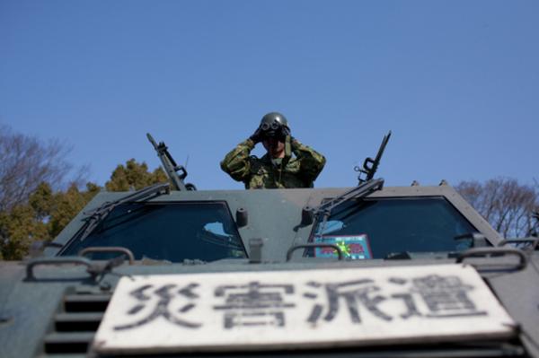 東日本大震災で大活躍した予備自衛官