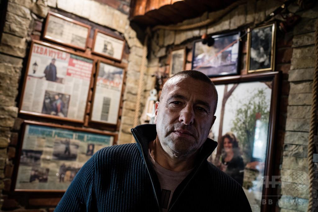 ドナウ川で自殺図る人たちを救う漁師 セルビア