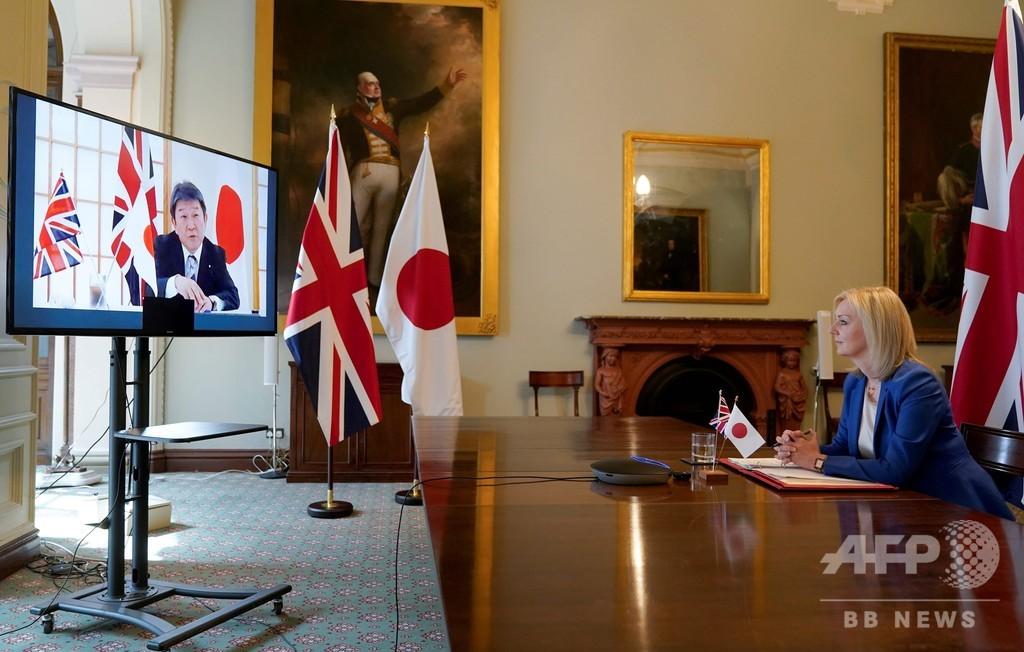 英、日本との自由貿易協定締結で合意と発表 EU離脱後初の主要協定