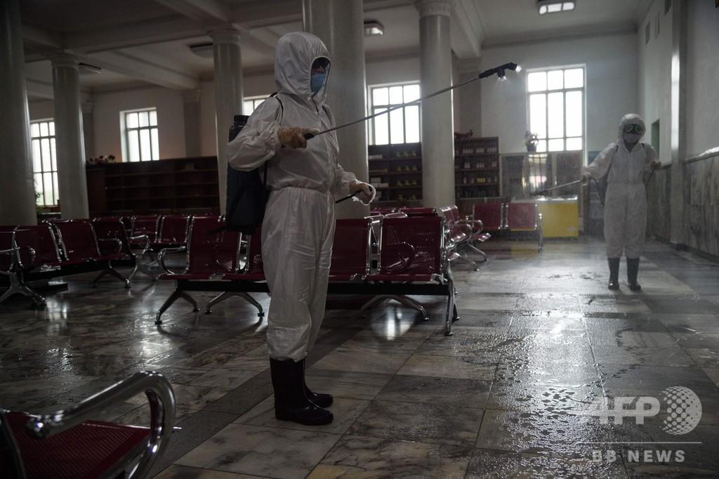 北朝鮮、コロナ対策強化 公共交通で検温や消毒