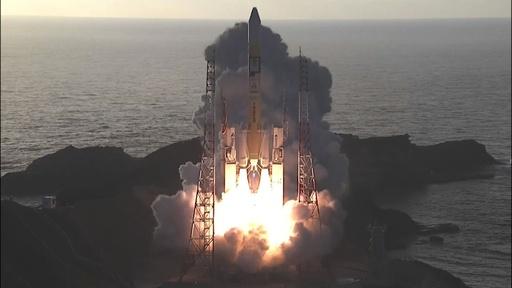 動画:「みちびき4号機」打ち上げ、カーナビ精度の向上目指し
