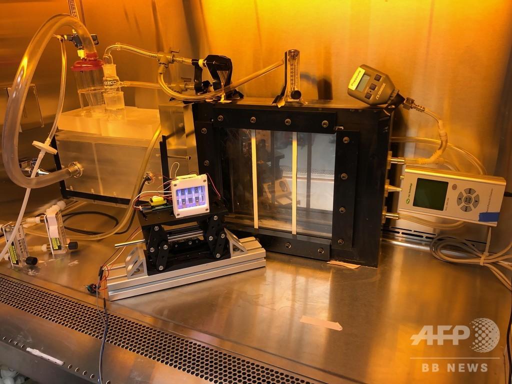 紫外線ランプ、新型コロナとの闘いに光明か 米大が実験