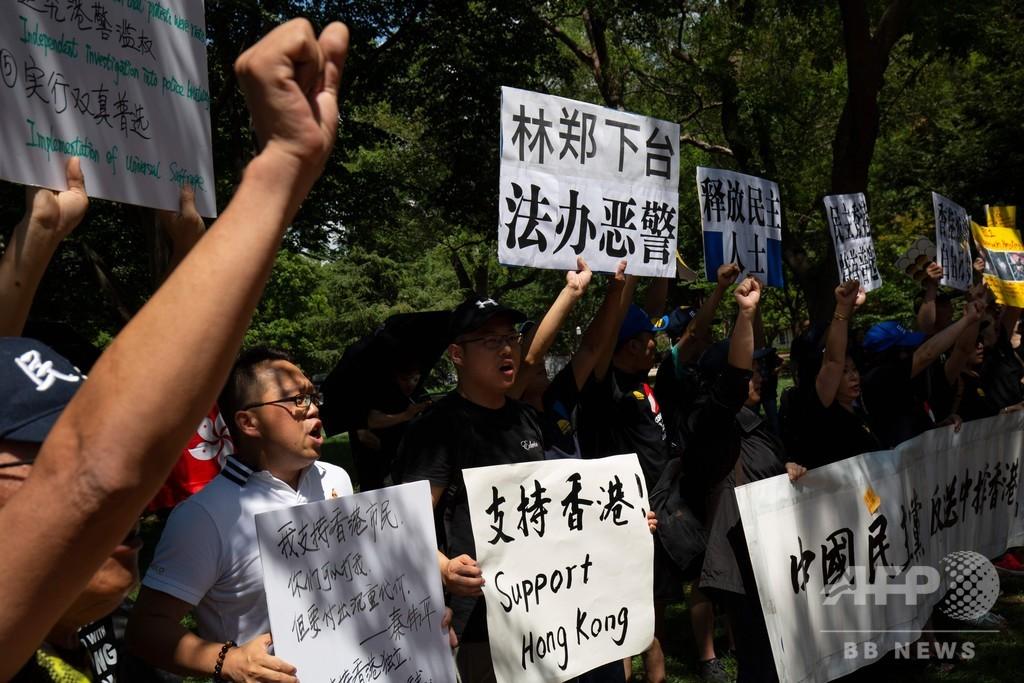 香港で「天安門」再発なら貿易協議は困難、トランプ氏が中国けん制