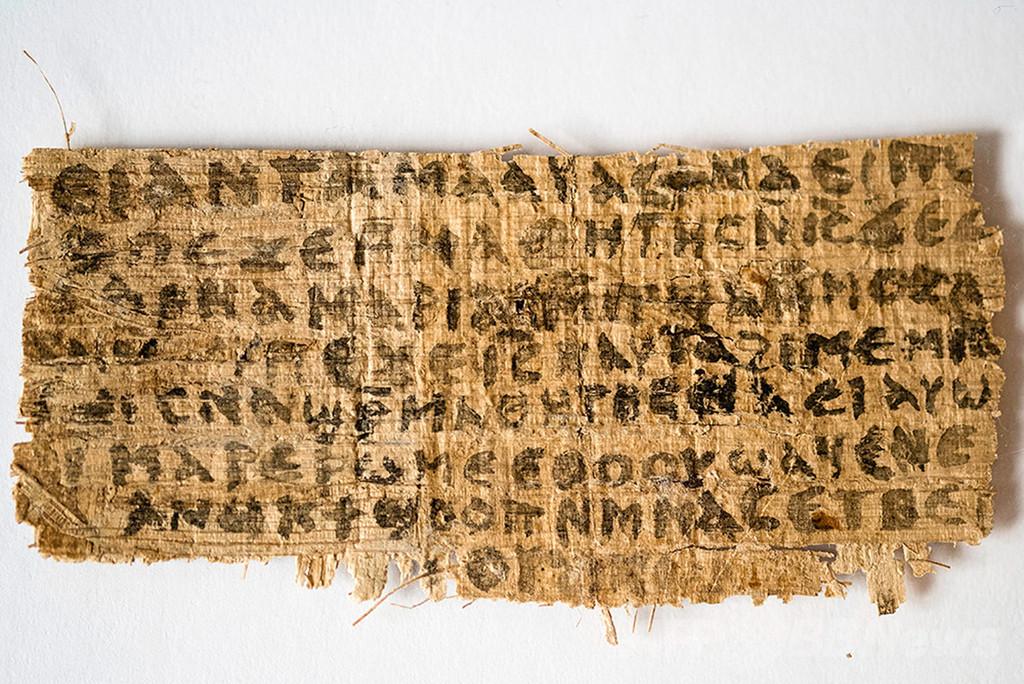 キリストの「妻」記した紙片は古代のもの、年代測定で判明 米研究