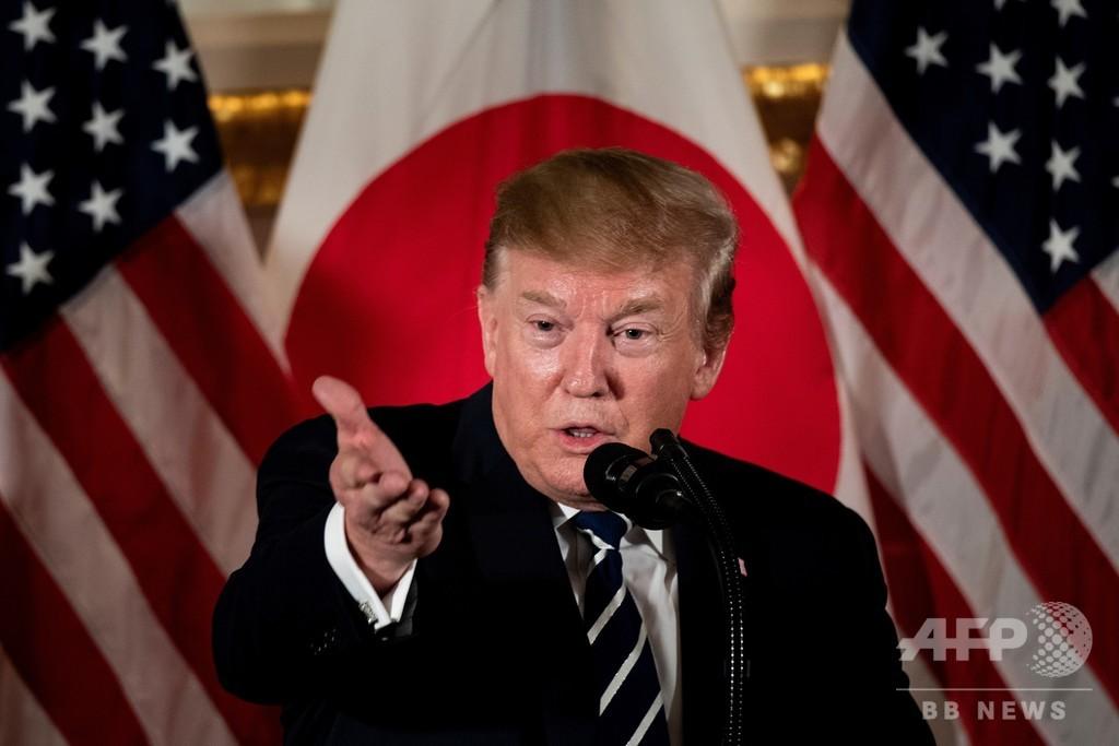 トランプ氏、 日米貿易交渉は「大きく前進」も「多く」は参院選後に