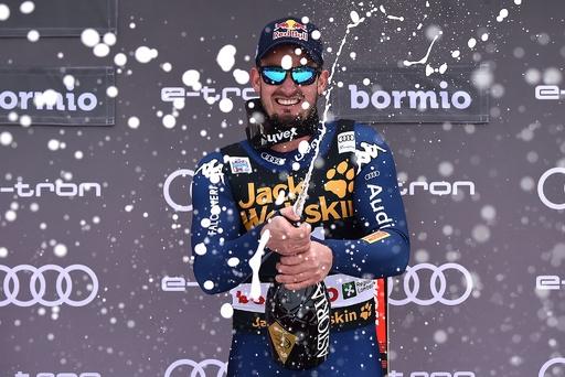 パリスが今季W杯初勝利、難コースの伊ボルミオで滑降4勝目