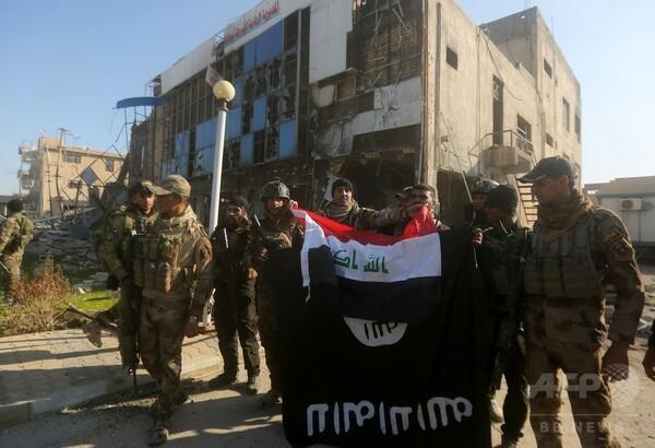 IS、支配地域の3分の1失う 有志連合報道官