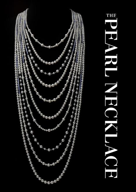 ミキモト「世界中の女性を輝かせる THE PEARL NECKLACE」展を開催