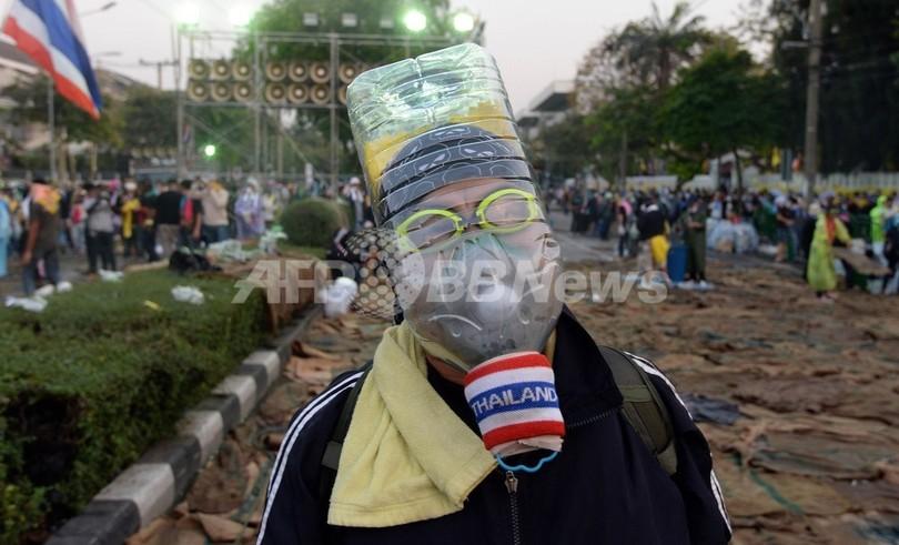 タイ首相、「人民評議会」への権力移譲を拒否 反政府デモが要求