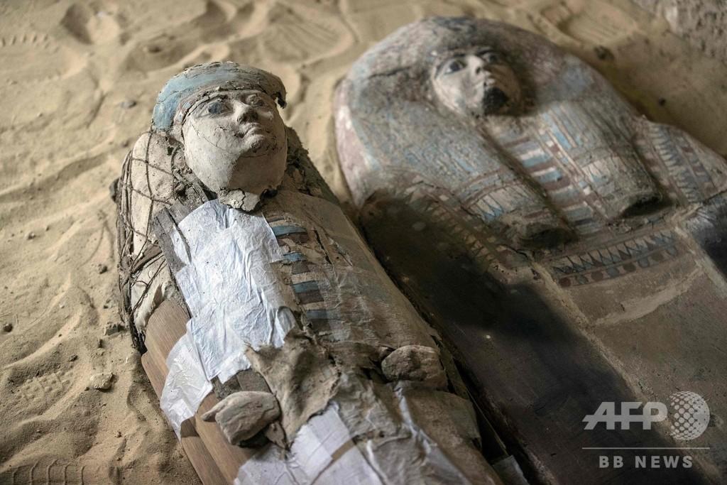 エジプト考古省、約4500年前の墓を公開