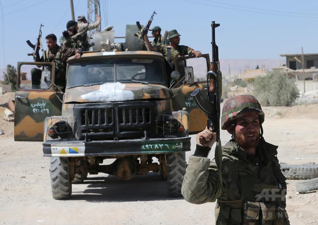 拉致された従業員は300人、ISの犯行 シリア国営通信報道