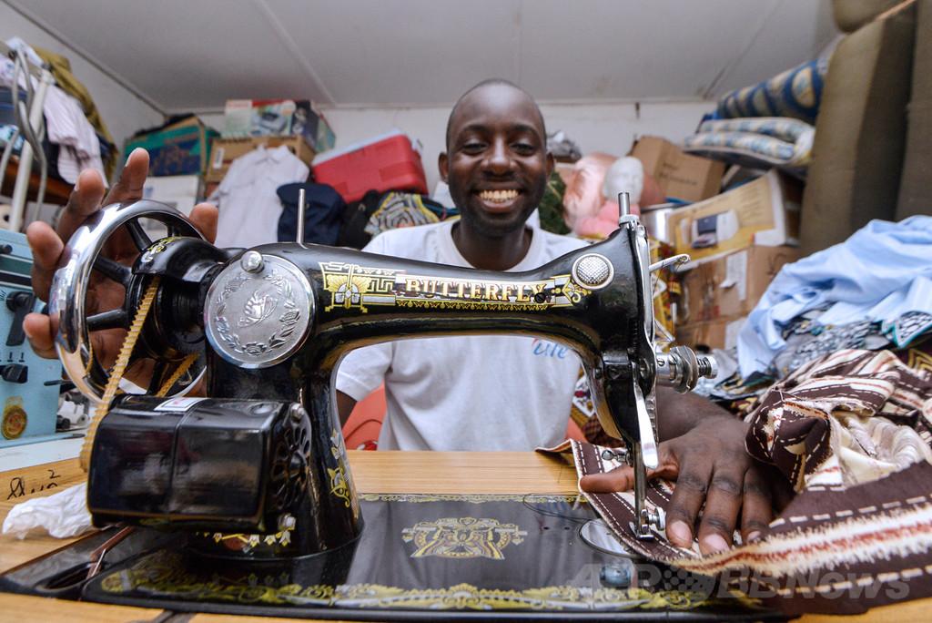 少数民族ピグミーの伝統アートをファッションに、コンゴ出身デザイナー
