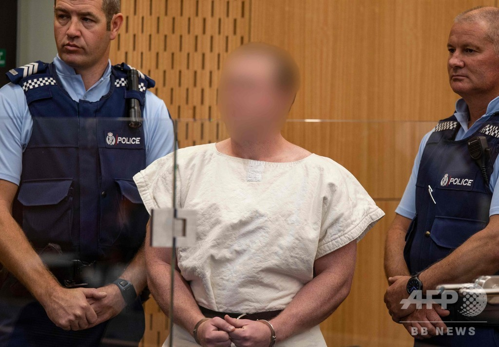 NZモスク乱射の容疑者、弁護人を拒否 法廷で自ら弁護へ