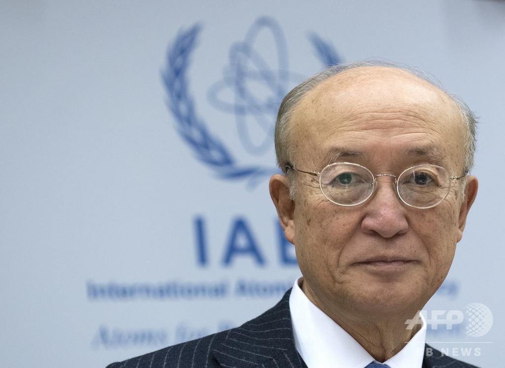 IAEAの天野事務局長が死去、72歳