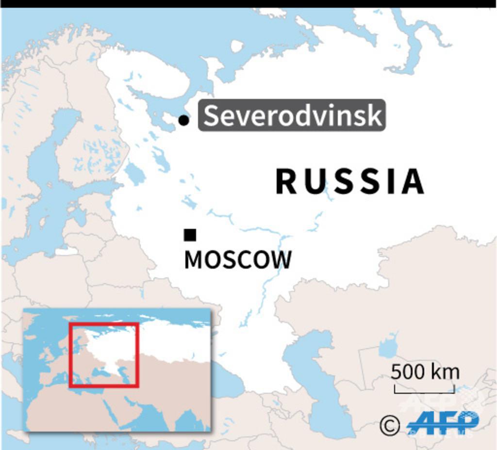ミサイル実験場での爆発、ロシア原子力企業が死者5人と発表