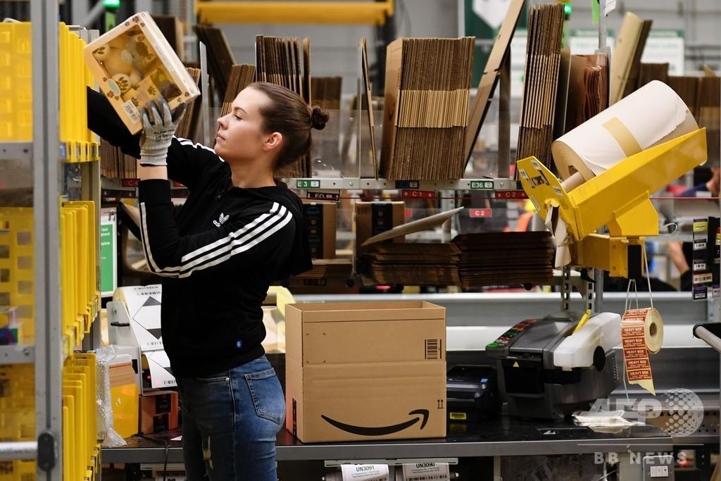 独アマゾン従業員2200人、「ブラックフライデー」にスト 労働条件の改善要求