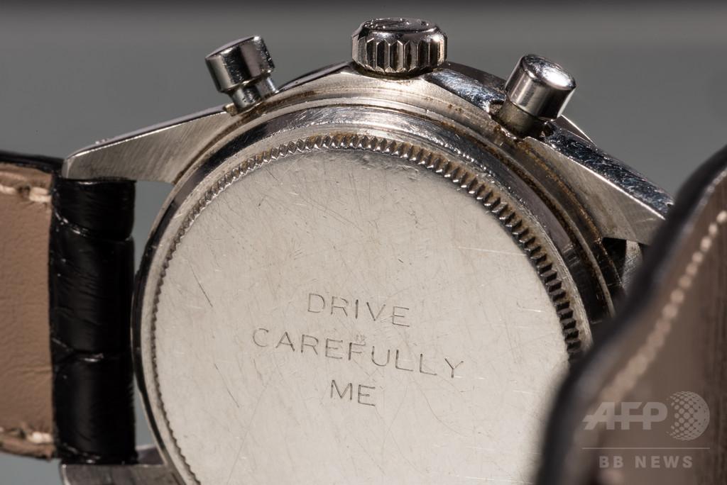 ポール・ニューマン所有「デイトナ」約20億円で落札、腕時計史上最高額